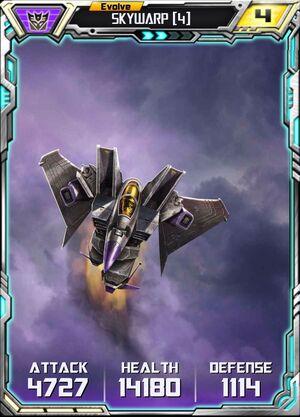 Skywarp (4) - Evo 2