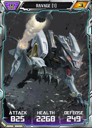 Ravage (1) - Robot