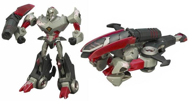 File:TFAnimated Deluxe BattleBegins Megatron toy.jpg
