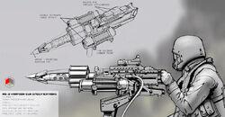 M9-2 Harpoon Gun