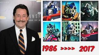 Optimus Prime 1986 to 2017 Voice Compare Porfirios Guarding This Channel