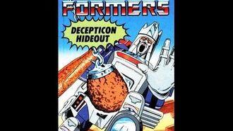 Decepticon Hideout by John Grant - 1986 Transformers Audiobook