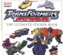Transformers Armada: Ultimate Sticker Book