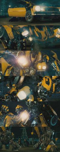 Movie Bumblebee transformation1