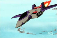 TFA Blitzwing Jet Altmode