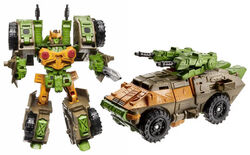 Universe comicpack Roadbuster toy