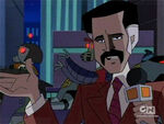 Animated newsman