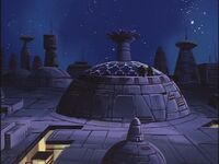 G1 Decepticon Headquarters Cybertron