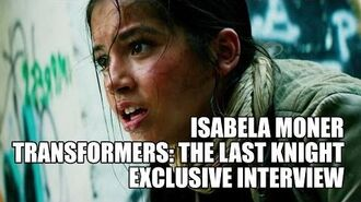 Isabela Moner - Transformers The Last Knight - Exclusive Interview