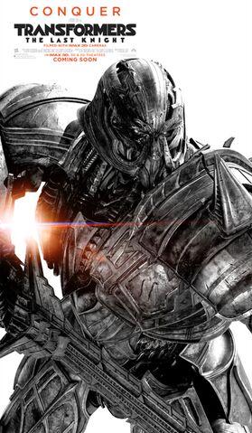 File:Transformers the last knight poster megatron.jpg