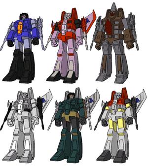 Seeker Group Teletraan I The Transformers Wiki