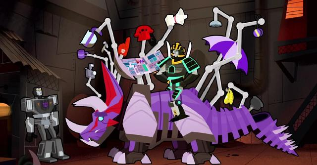 File:How to Ride Your Dinobot Ep3 Drift Activates Slug's Functions in Front of Lockdown.jpg