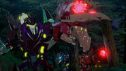 Shadelock, Insecticon Bounty Hunter and Roughedge in Fight