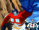 MTMtE Part3 Optimus overacting