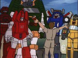 Hoist Goes Hollywood Autobots director