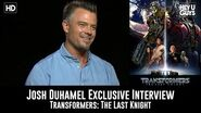 Josh Duhamel Exclusive Interview - Transformers The Last Knight