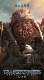 Transformers 5 Hound Poster