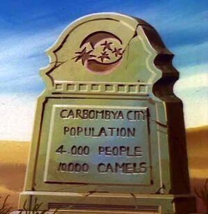 Carbombya Marker
