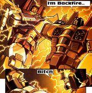 Backfire&Starscream