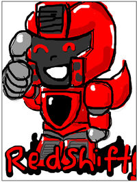 Redshift doodle