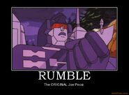 Rumble-demotivational