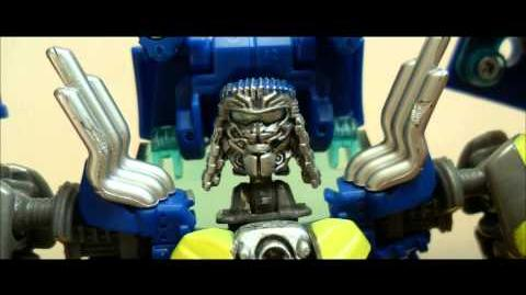Transformers Stop Motion Test Scene Part 1