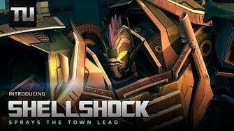 Decepticon Shellshock - Transformers Universe Game