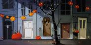 Kürbisses-Nacht streets