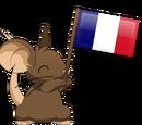Flag waving
