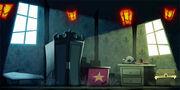 Kürbisses-Nacht attic