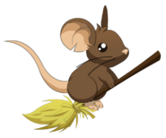 Mouse Broom 1