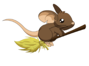 Mouse Broom