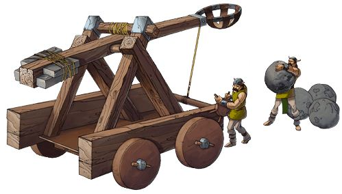 how to build a large catapult