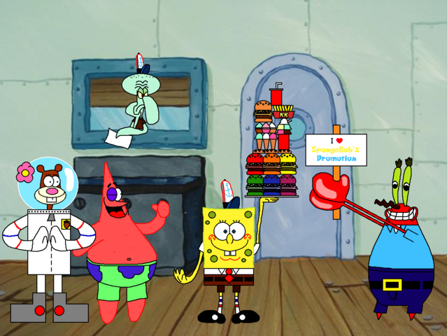 File:SpongeBob Cooks Food & Treats on The Krusty Krab with His Friends.png