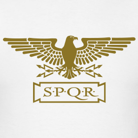 Roman-eagle-gold-version design