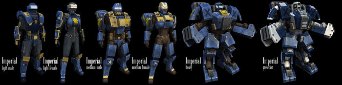 Imperial Armors