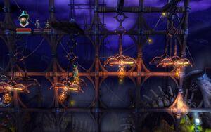 Hanging Platforms