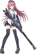 Lilith Asami Anime Official Character