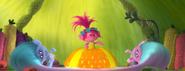 Princess Poppy trying on Dress 3