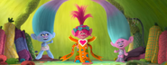 Princess Poppy trying on Dress 4