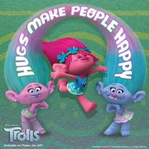 Dreamworks Trolls - Hugs make people happy