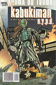 Kabukiman fester comix issue 3