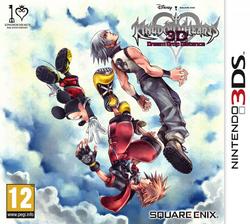 Kingdom Hearts 3D Dream Drop Distance Boxart EU