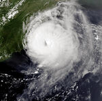 Hurricane Emily 31 aug 1993 2059Z