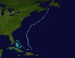 2000 Atlantic subtropical storm 15 track.png
