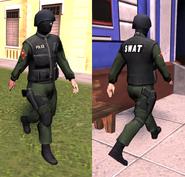SWAT member T5