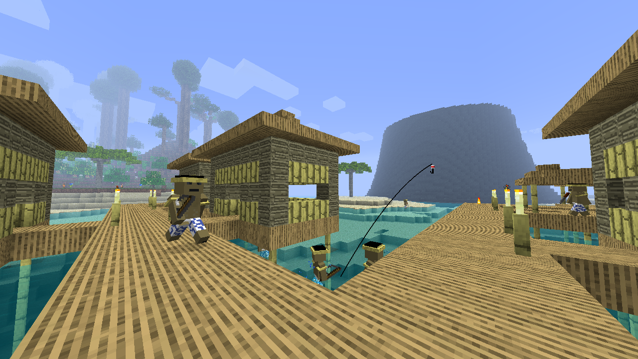 Water Hut City Building
