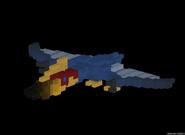 Dinotamer pet quetzalcoatlus
