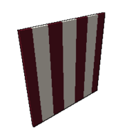 Red and White Sail