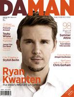 Ryan Kwanten, Daman Magazine-2